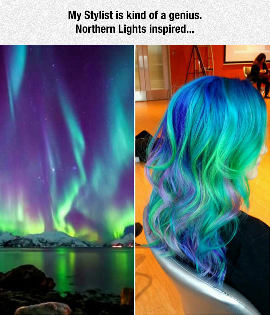 Northern Lights Inspired