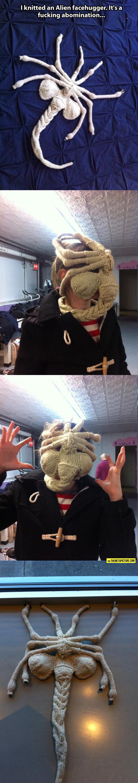 cool-knitted-alien-facehugger