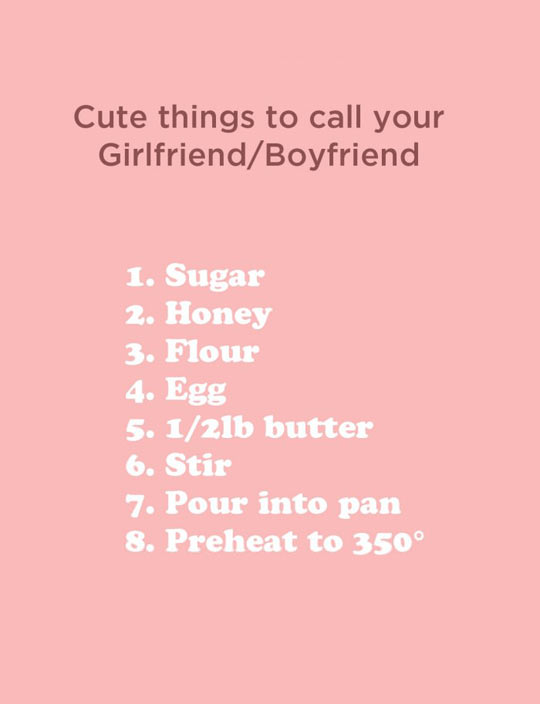 How To Properly Call Your Boyfriend Or Girlfriend