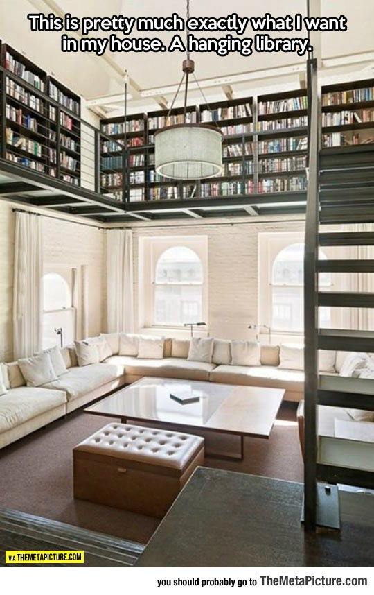 cool-living-room-design-library-book