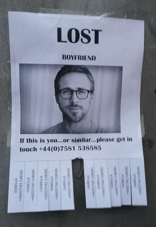 Lost Boyfriend, Please Help