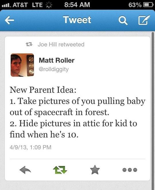 Idea For New Parents