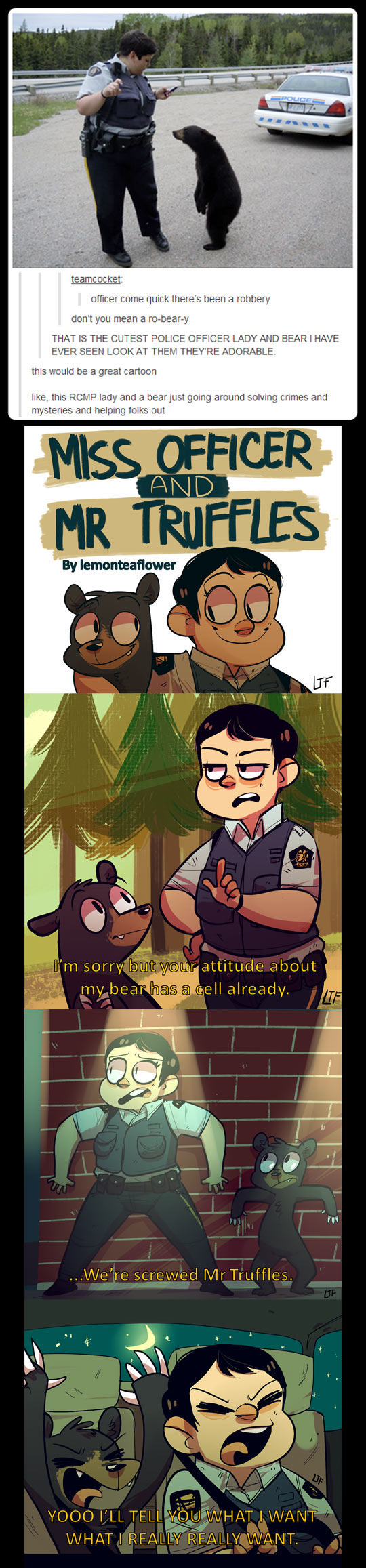 The Officer And Mr Truffles