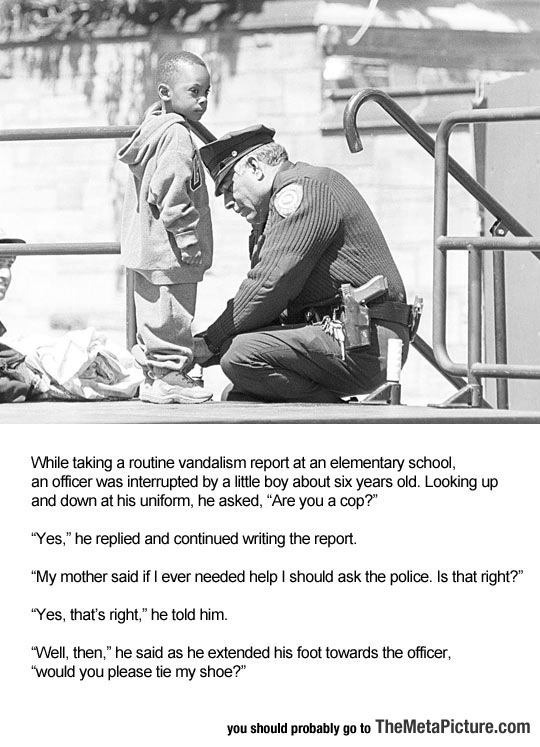 Child Asks For Help