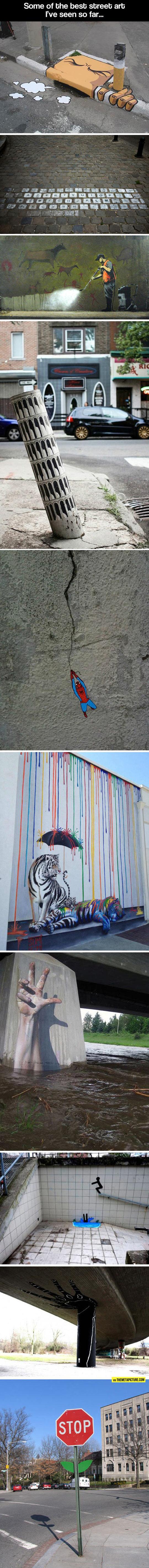 Clever Urban Street Art