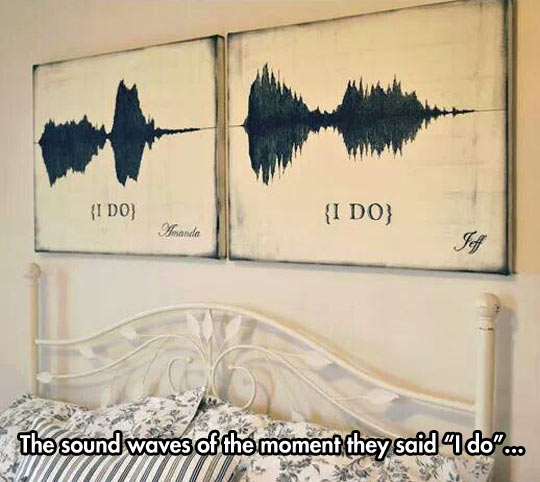cool-sound-wave-graphic-bed-frame-painting