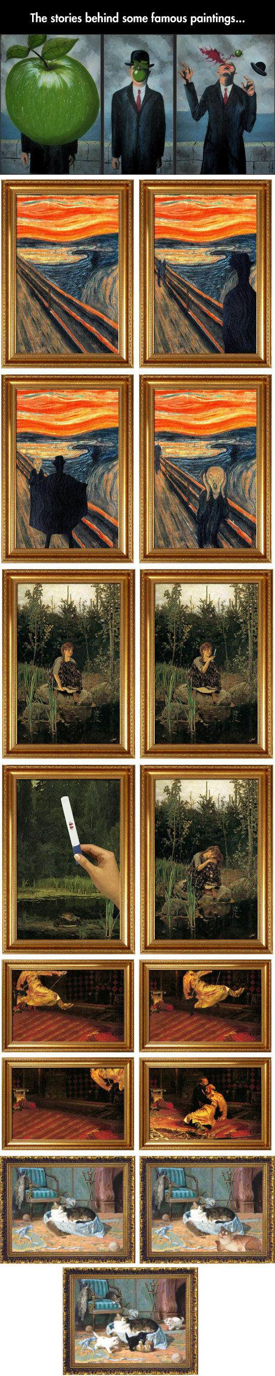 Stories Behind The Paintings