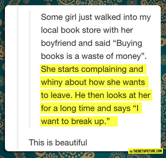 cool-story-library-buying-books-brake-up