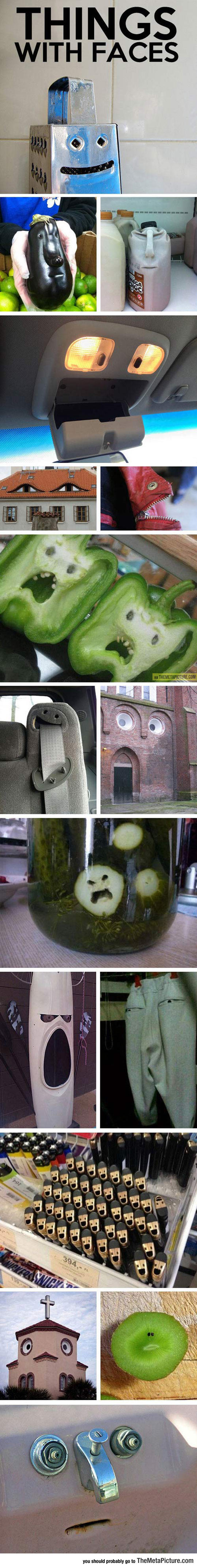 Pareidolia: Things That Have Faces