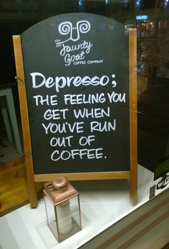 Definition Of Depresso