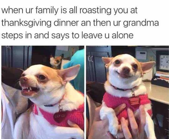 Grandma Always Has Your Back