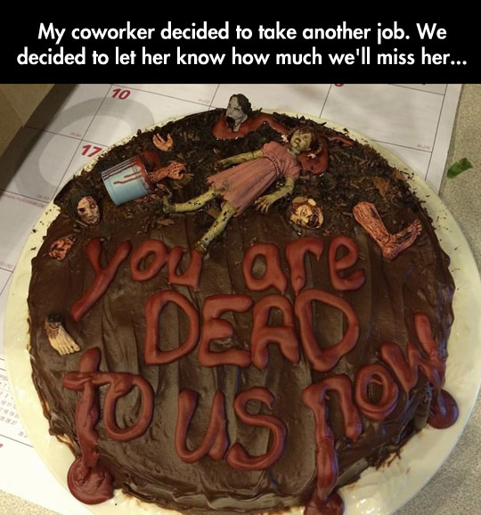 Saying Goodbye To A Dear Coworker
