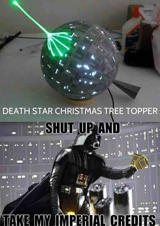 Star Wars Christmas Tree Topper