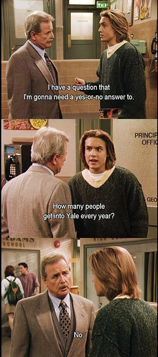 A Great Eric And Feeny Moment