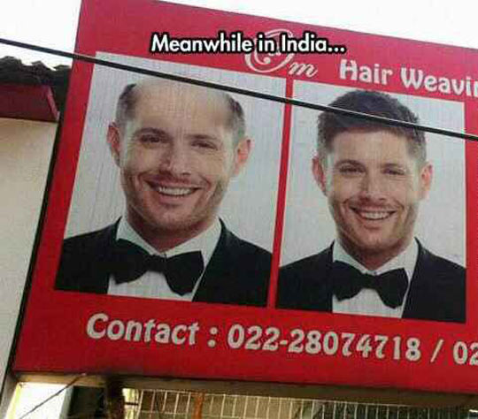 Jensen Ackles In India