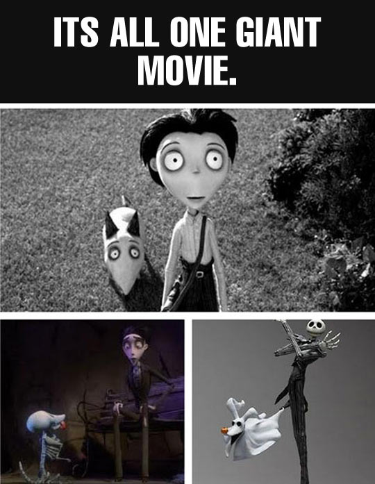 Tim Burton Is A Genius
