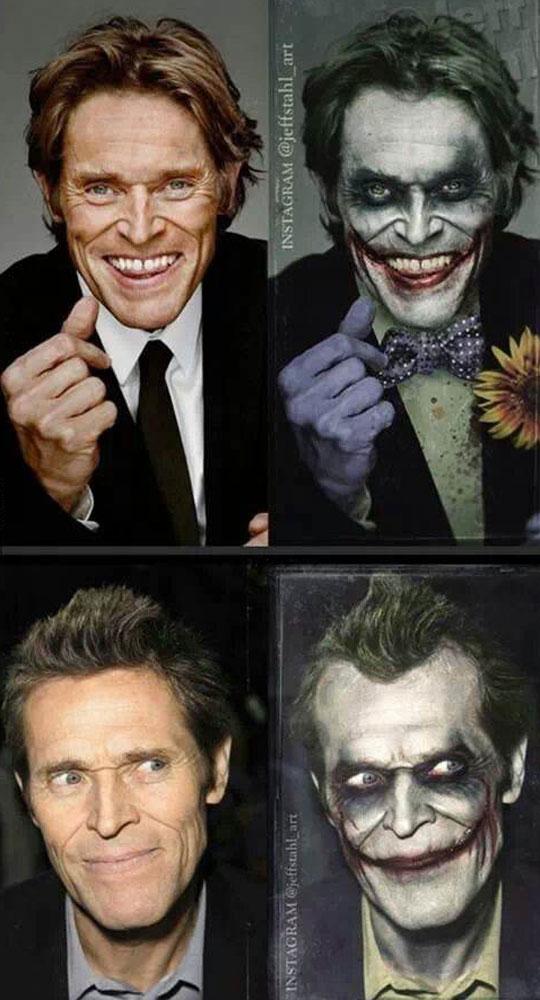 funny-Willem-Defoe-Joker-makeup