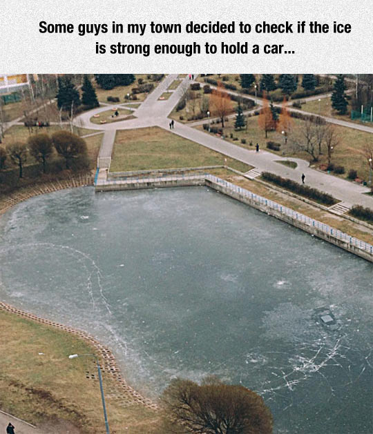 funny-car-ice-river-frozen