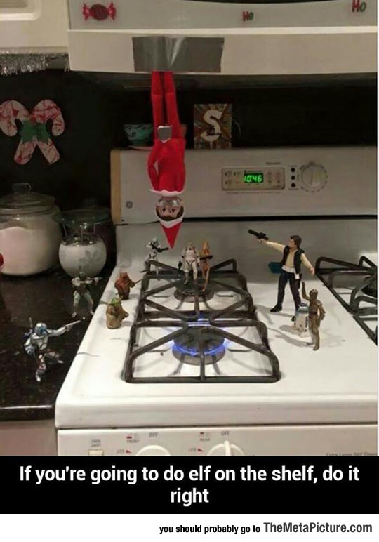 funny-elf-shelf-Star-Wars