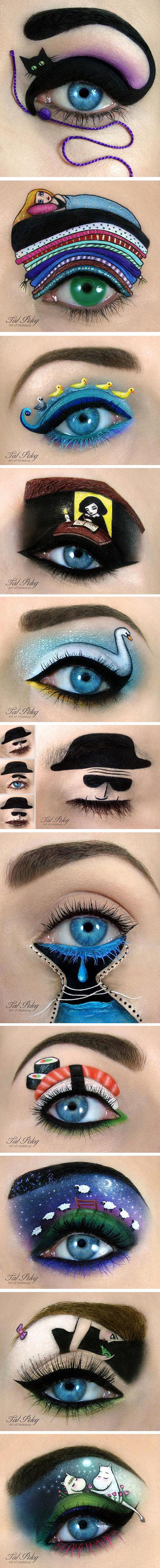 funny-eye-makeup-cat-colors-art-wool