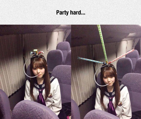 She Knows How To Party