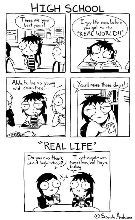 The High School Years