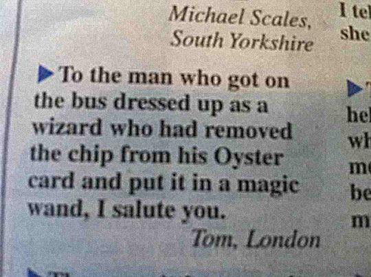 Tom Loves Wizard
