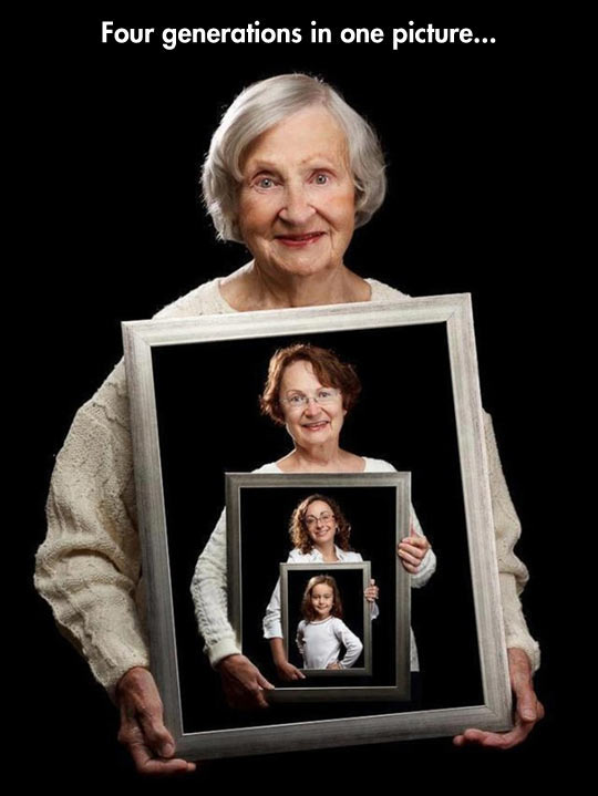 Clever Generational Portrait