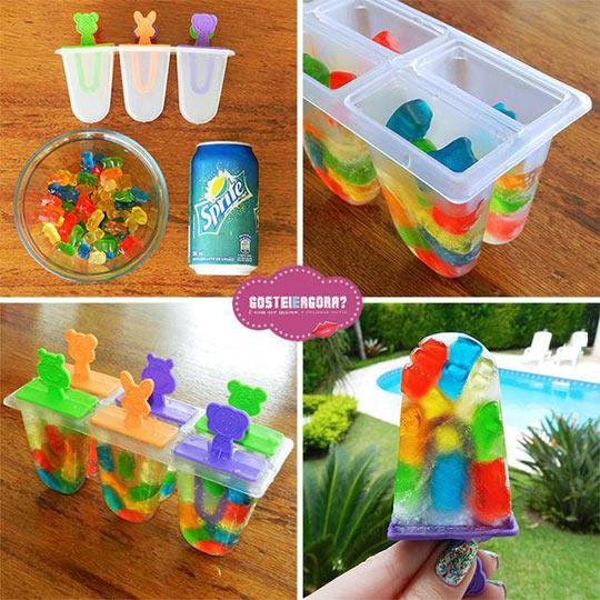Gummy Bear Pops Idea