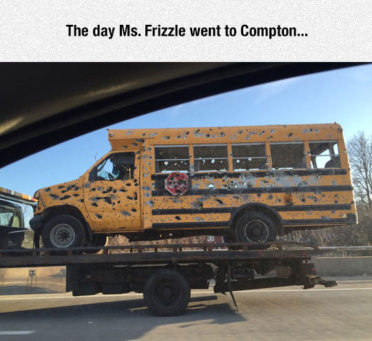 Oh, Ms. Frizzle
