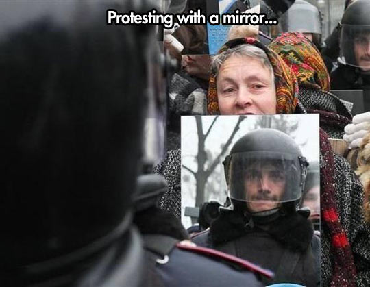 A Very Original Way To Protest