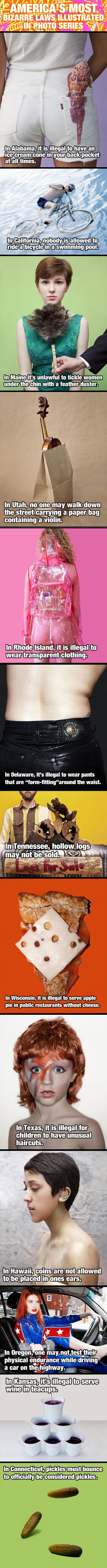 Most Bizarre Laws In America