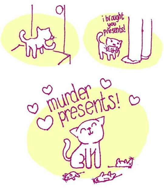 Cats Are So Generous