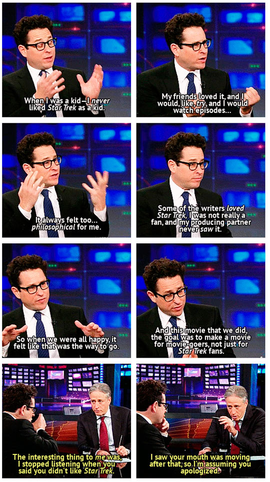 J. J. Abrams Discussing Star Trek