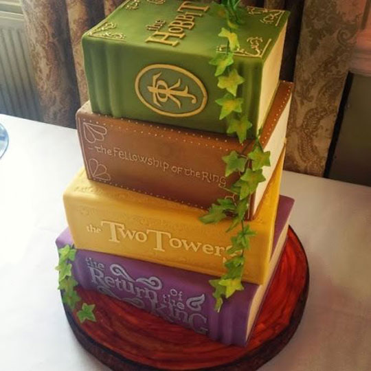 Perfect LOTR Cake
