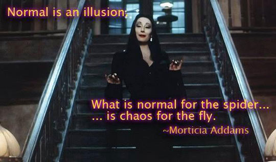 Normal Is Just An Illusion