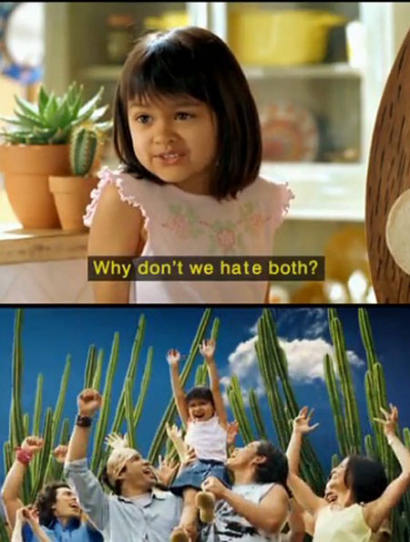 My response whenever someone says Don t hate the player hate the game