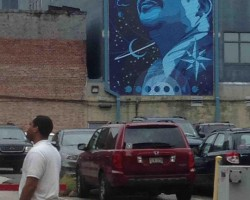 Neil deGrasse Tyson Graffiti Found In Downtown Baton Rouge
