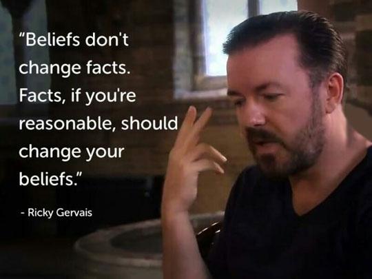 Facts Vs. Beliefs