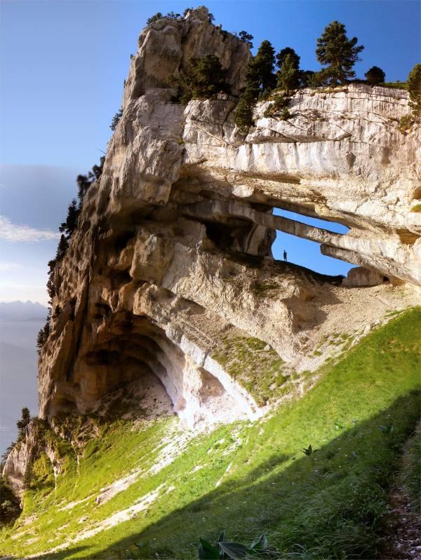 Rock formation in France, Massif de la Chartreuse