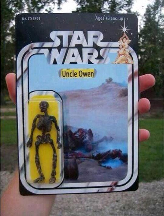 Star Wars Action Figure Uncle Owen