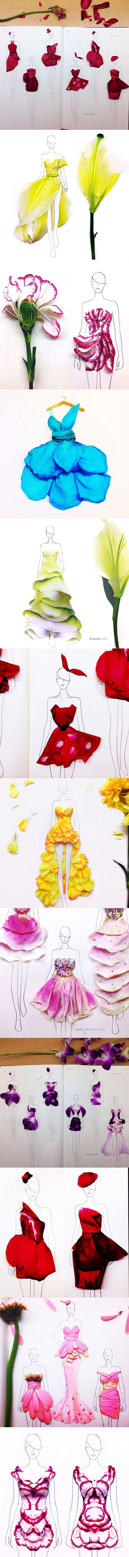 clothes-fashion-illustration-rose-petals