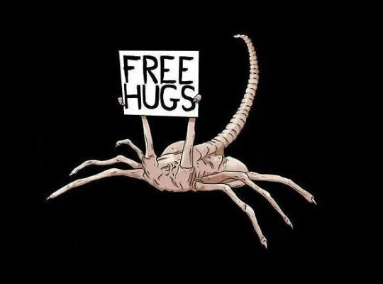 Not Falling For That Again Mr. Facehugger
