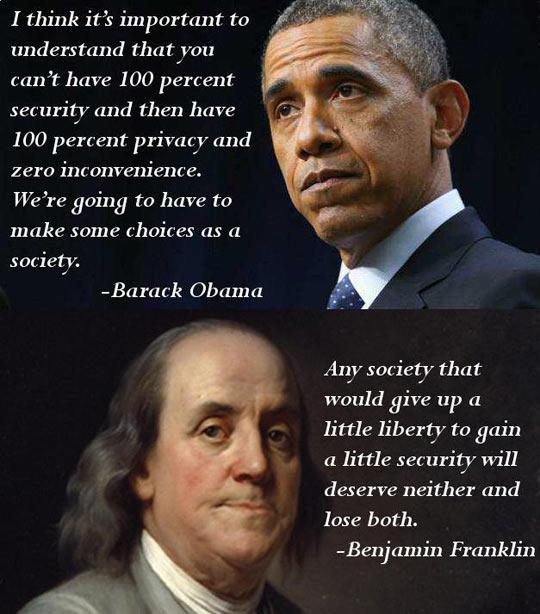 Security Vs. Liberty