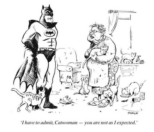 Batman Finds Catwoman