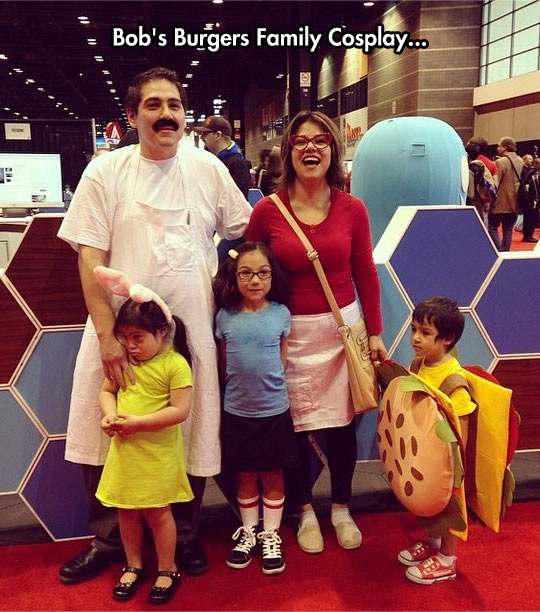 Probably The Best Family Costume Ever
