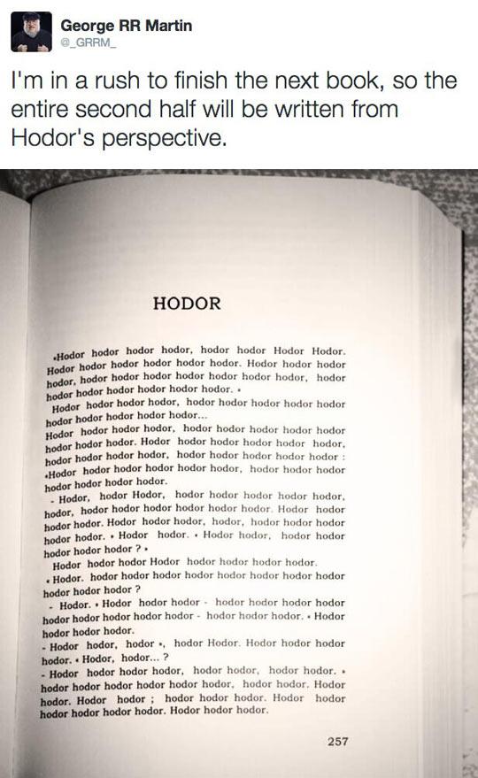 From Hodor