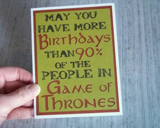 Birthday Card Win