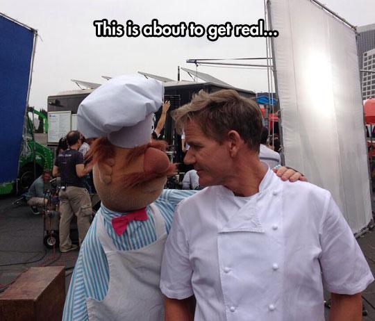 Gordon Ramsay Meets The Swedish Chef