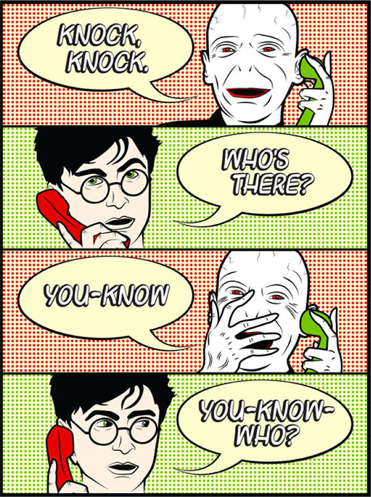 Knock Knock Mr. Potter
